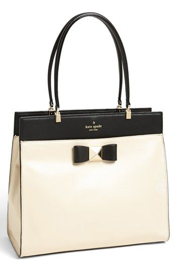kate spade new york 'bow terrace - fulton' tote available at #Nordstrom