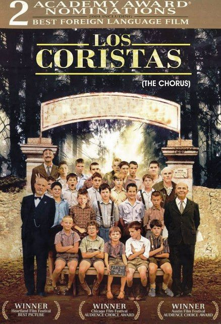 """[CINE CLUB] HOY no se pierdan """"Los Coristas"""", basada en un hecho real ocurrido tras la II Guerra Mundial. Sala Cultural. 11:00 a.m. y 2:00 p.m. Foto de: http://signisalc.org/"""