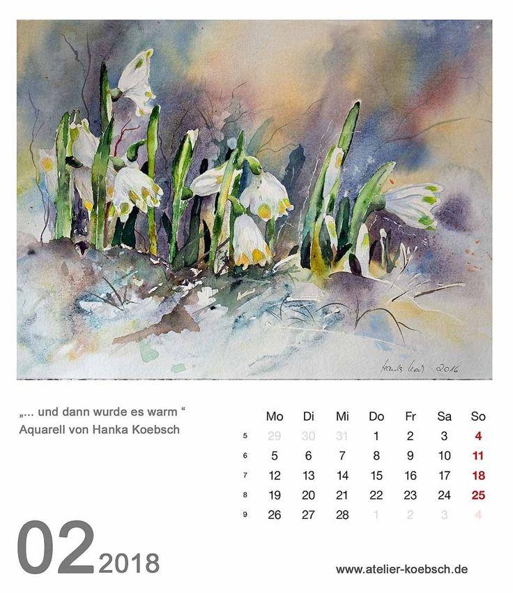 The 14 best Kalender 2018 mit einer Auswahl unserer Aquarelle images ...