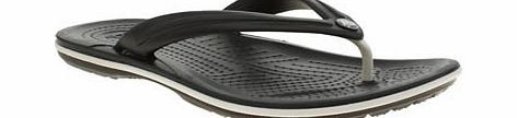 Crocs Black Crocband Flip Sandals A croslite material, womens toe post by Crocs. Super lightweight sandal which offers a cushioned footbed and slip resistant, non marking soles. A truly comfortable and flexible sandal that captures th http://www.comparestoreprices.co.uk/womens-shoes/crocs-black-crocband-flip-sandals.asp