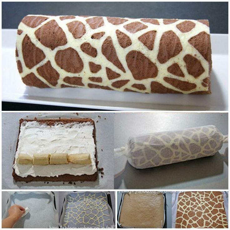 Giraff kaka... I like!!