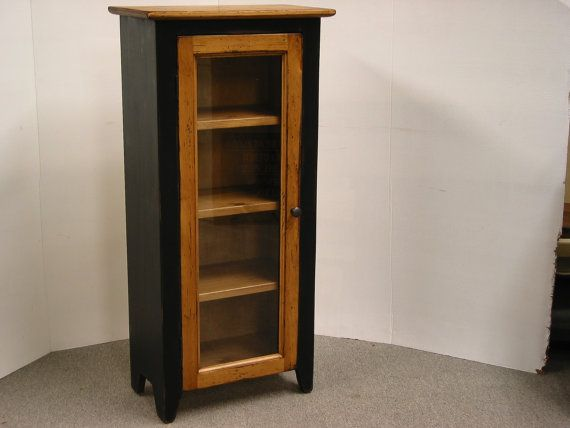 Bathroom cabinet ,Small display Cabinet, Jelly Cabinet,Small China Cabinet,Kitchen Hutch,Black Painted Jelly,On Sale