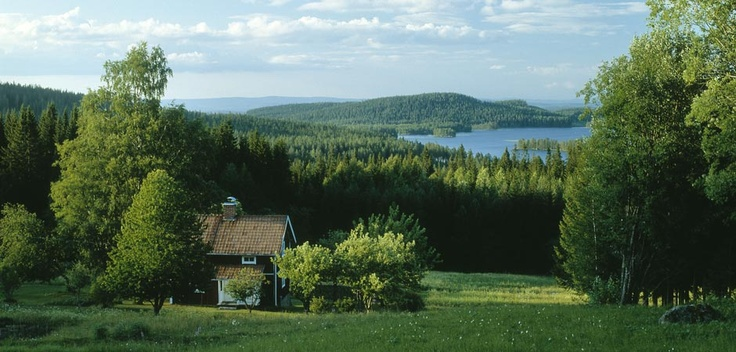 The endless alpine expanses and mountain ranges are Sweden's pride and joy.