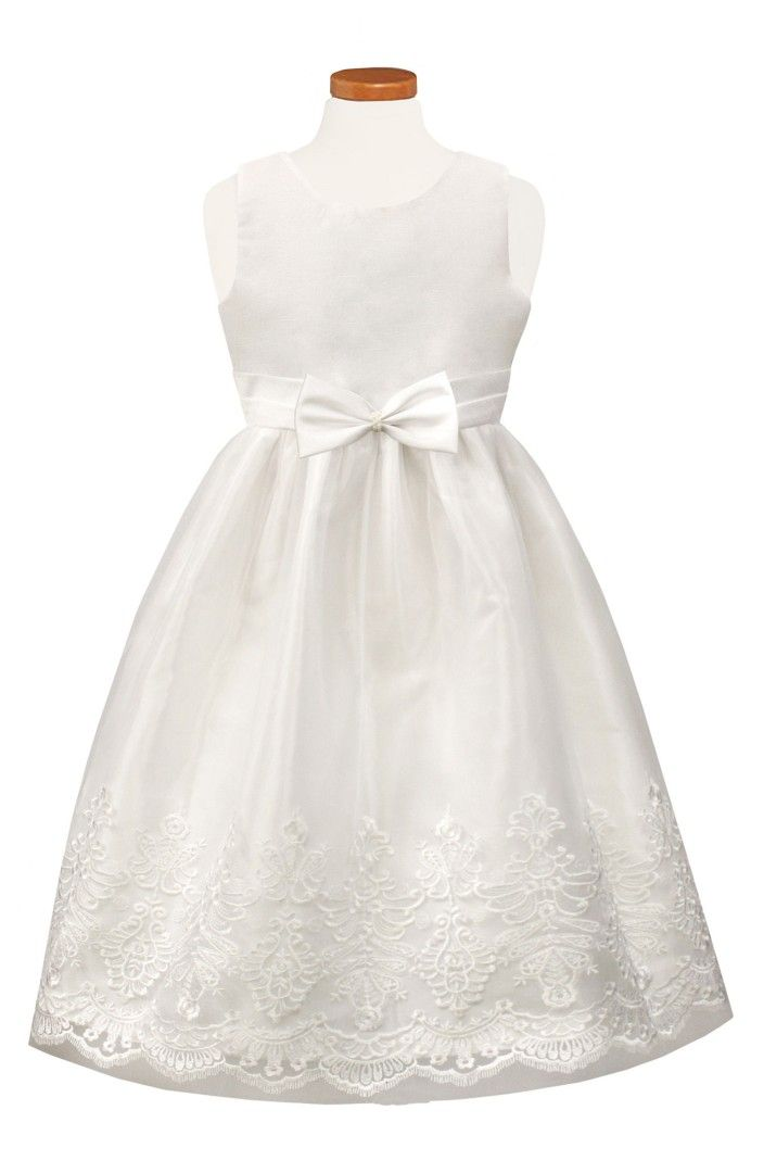 c012fdf3f2a Main Image - Sorbet Embroidered Tulle Dress (Big Girls)
