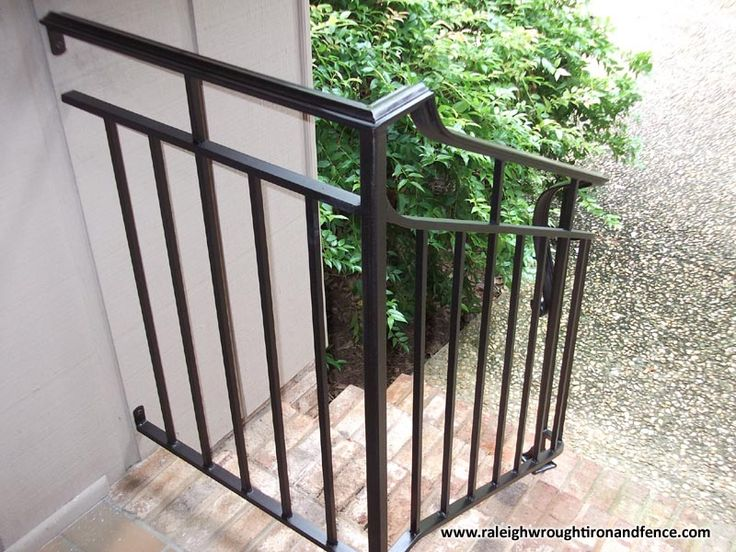 Best Custom Wrought Iron Residential Railings Raleigh Wrought 640 x 480