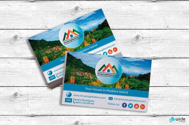 #visitcard #amazing #madeira #nature #landscape #cartaovisita #design by SOFIARF