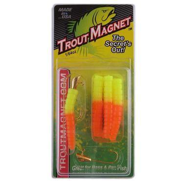 Leland Trout Magnet 1/64oz 9ct Orange/Chartreuse