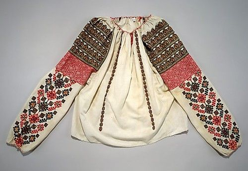 Blouse  Early 20th Century   Romania  MET