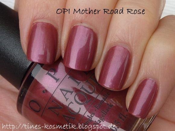 OPI Mother Road Rose BLACK LABEL $5