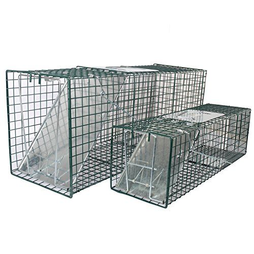 MLG Tools 2-Pack Live Animal Trap One-Door Chipmunk, Small Squirrel, Rat, and Weasel Cage Trap, 1 pc 32x12x10 Inch & 1 pc 24x7x7 Inch   http://huntinggearsuperstore.com/product/mlg-tools-2-pack-live-animal-trap-one-door-chipmunk-small-squirrel-rat-and-weasel-cage-trap-1-pc-32x12x10-inch-1-pc-24x7x7-inch/