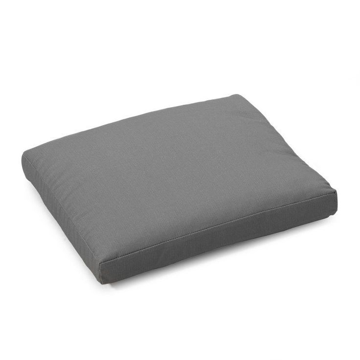 Coral Coast Classic 19 x 19 in. Outdoor Seat Pad Timeless Gray - 9412PK1-3784C