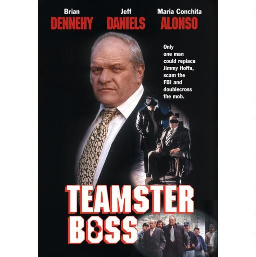 Teamster Boss from Warner Bros.: Starring Brian Dennehy, Jeff Daniels, Maria Conchita Alonso, Eli Wallach and… #Movies #Films #DVD Video
