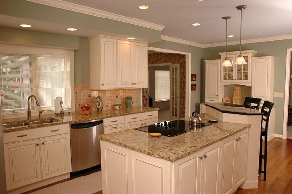 Our picks for the best kitchen design ideas for 2013 for Best color for kitchen cabinets for resale
