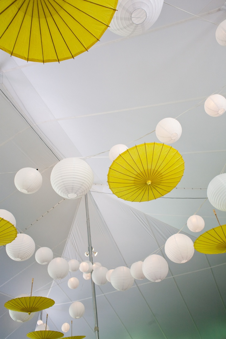 Paper parasols and paper lanterns are absolutely