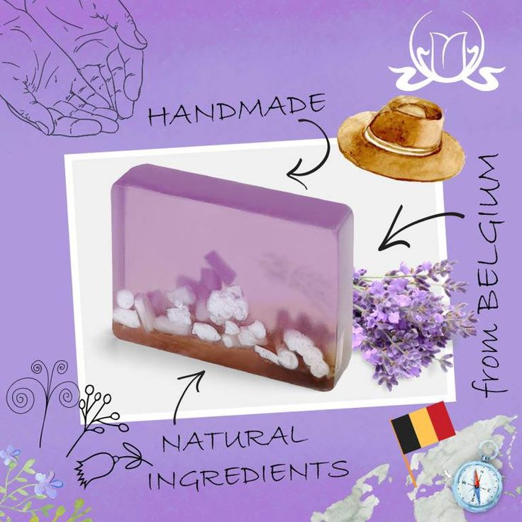 Do you know that our beautiful #soaps are made by hand, with only the finest, top, #natural ingredients by a small Belgian manufacturer near the border with France :) Enjoy your life! Every single day!  #handmade #handmadesoap