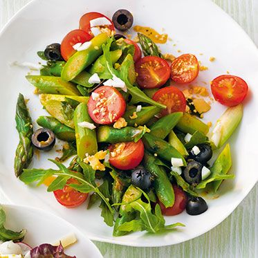 Grüner Spargelsalat (Vegan Recipes Bbq)