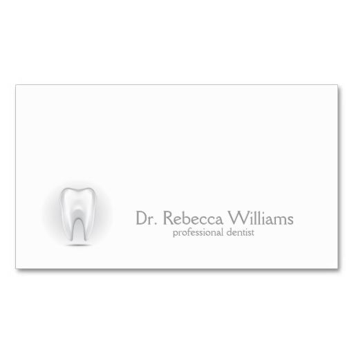 Professional dentist business card. I love this design! It is available for customization or ready to buy as is. All you need is to add your business info to this template then place the order. It will ship within 24 hours. Just click the image to make your own!