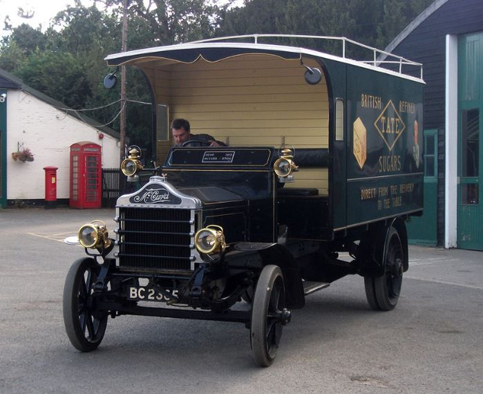 1913 McCurd Tate Sugar Lorry
