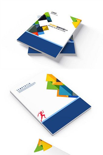 Business technology Brochure cover design#pikbest#templates