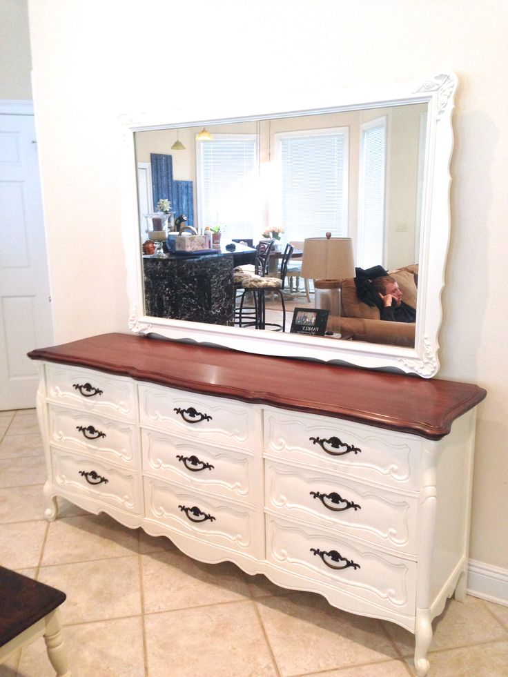 Ivory Two Toned Dresser By Fisherman S Wife Furniture