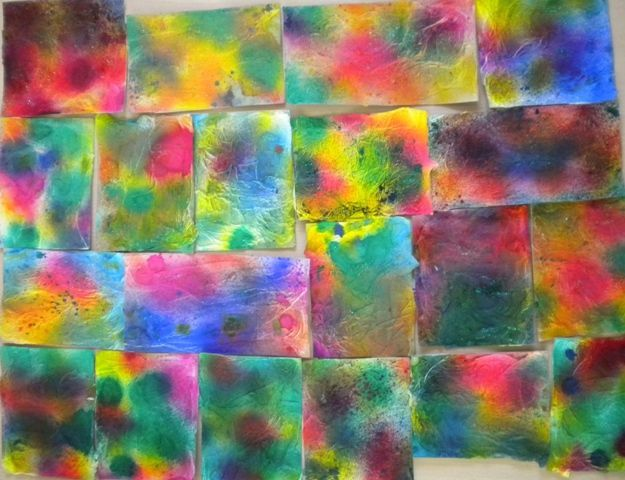 Fond vaporis l 39 encre fond de peinture pinterest for Art plastique peinture