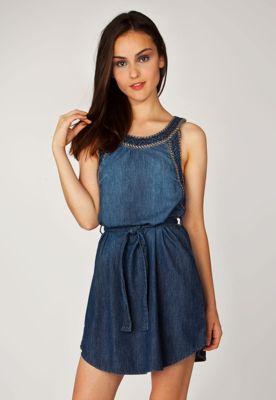 Vestido Jeans Cantão Vernisage Azul