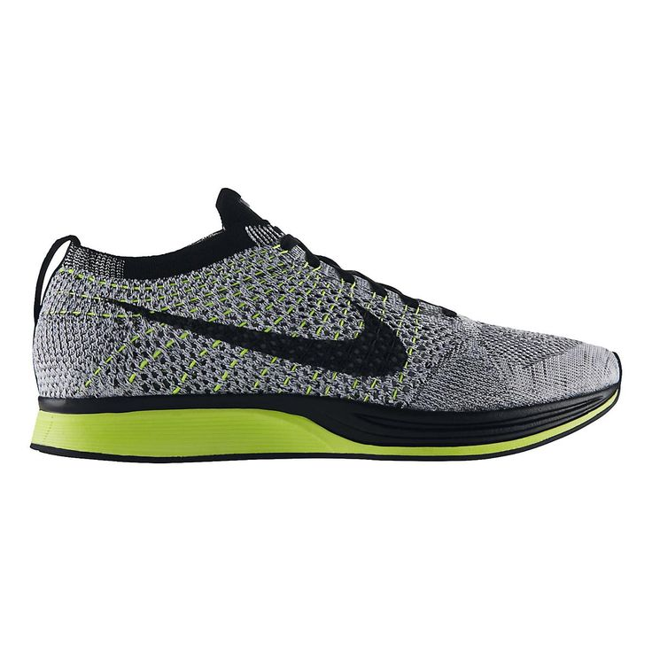 Youll be weaving through the pack with precision when youre running in your ultra-light, exceptionally responsive Nike Flyknit Racer