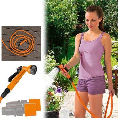 Magic MAXX Gartenschlauch mit Gartenbrause