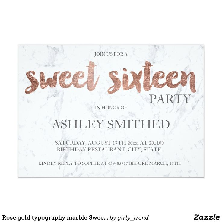 21 best GOLD SWEET SIXTEEN Invitations images on Pinterest | Cards ...