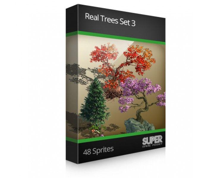 Real Trees Sprite Set3