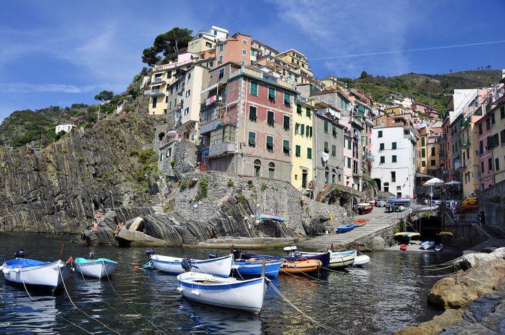 Italian pasta, panna cotta and ricotta — the flavours of Cinque Terre