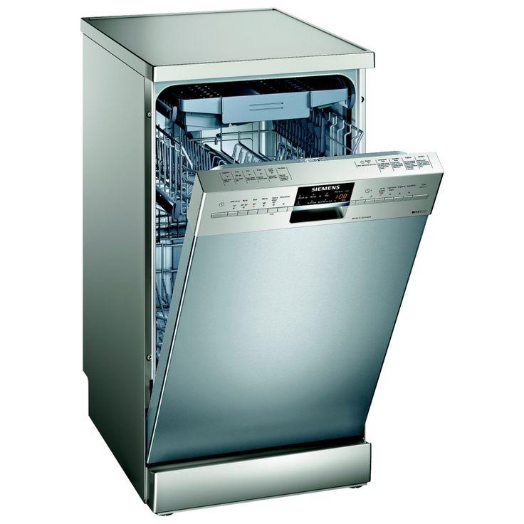 Siemens SR26T891GB - IQ 500 45cm Freestanding Dishwasher