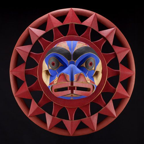 Wee Git's Many Tongues by Lyle Wilson, Haisla artist (W91116)