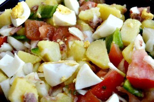 ensalada campera receta baja en calorias