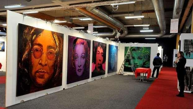 Art-Expo in NRW Zentralhallen provides international art