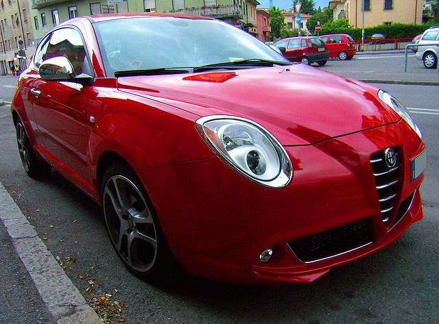 Alfa Romeo Mito by gipiosio, via Flickr