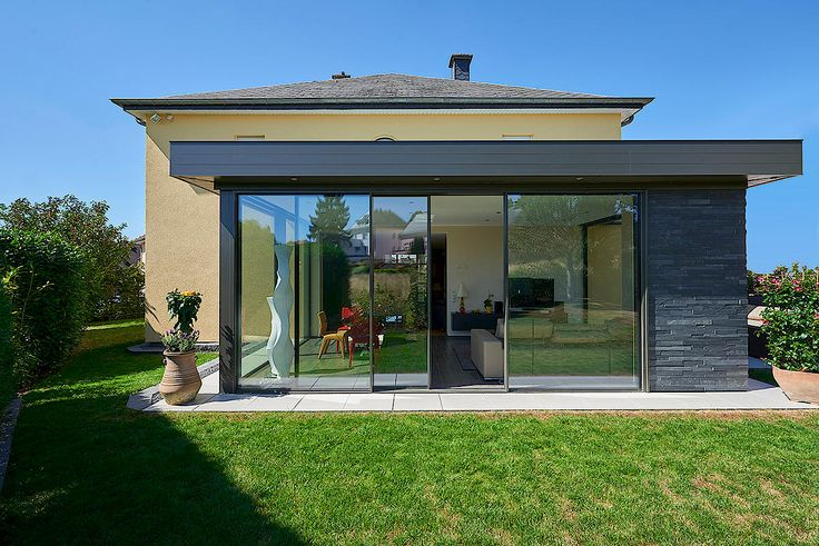 Glasshouse as a room extension
