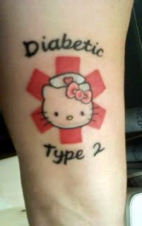 68 best images about medical alert tattoo on pinterest for Type 2 diabetes tattoo