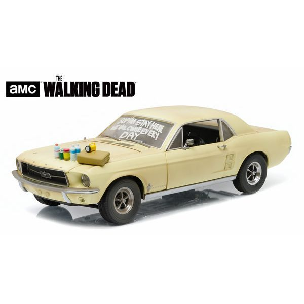 The Walking Dead - 1967 Ford Mustang Coupe Greenlight