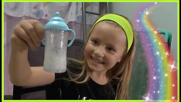 Тест волшебных бутылочек для кукол 🍶 + ЧЕЛЛЕНДЖ ЖЕВАТЕЛЬНЫЕ МАРМЕЛАДКИ  ...