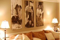 DIY Canvas Prints: HUGE Impact, low cost | Trendy Thrifting