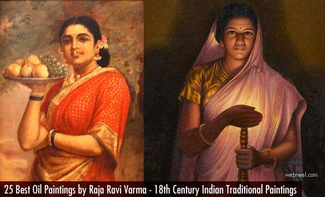 25 Best Raja Ravi Varma Paintings - 18th Century Indian Traditional Paintings. Read full article: http://webneel.com/25-best-oil-paintings-raja-ravi-varma-18th-century-indian-traditional-paintings | more http://webneel.com/paintings | Follow us www.pinterest.com/webneel
