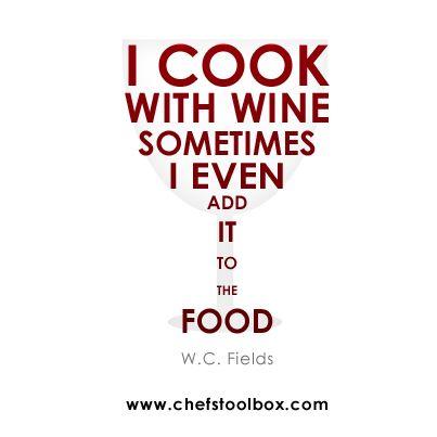 W.C. Fields #chefstoolbox
