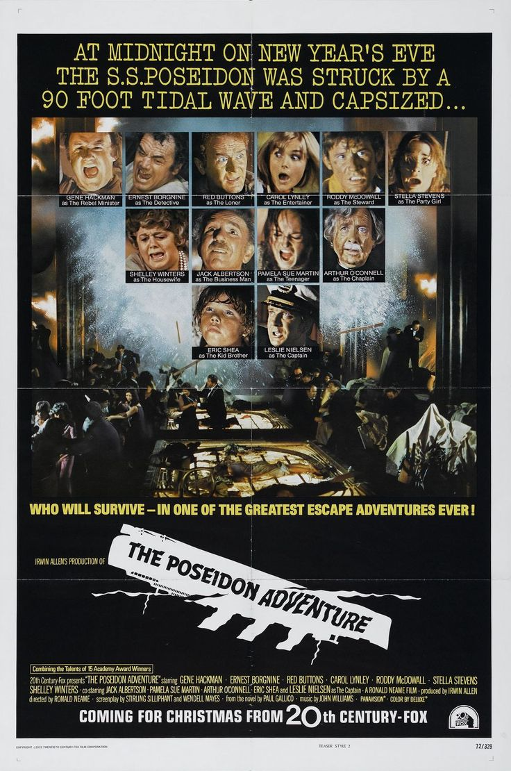 The Poseidon Adventure .... The Original is best the RE-MAKE was an insult !!!!!
