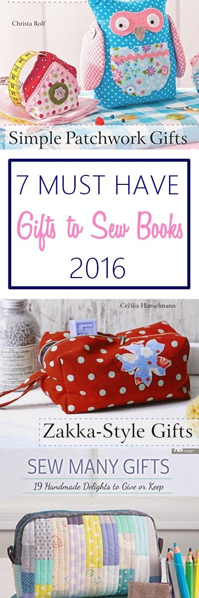 Gifts to sew ideas | books with holiday gifts to sew ideas | beginner gifts to s…