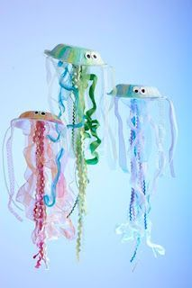 Preschool Crafts for Kids*: 21 Summer Fish and Sea Life Kids Crafts