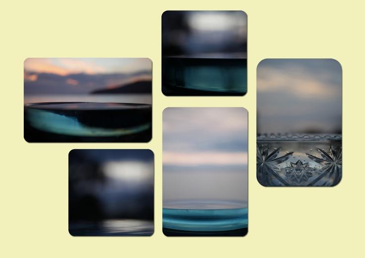 VAN DER BEEK, SUZE 'Sky Bowls' Photographic print, perspex Size: 24x35x4 $300