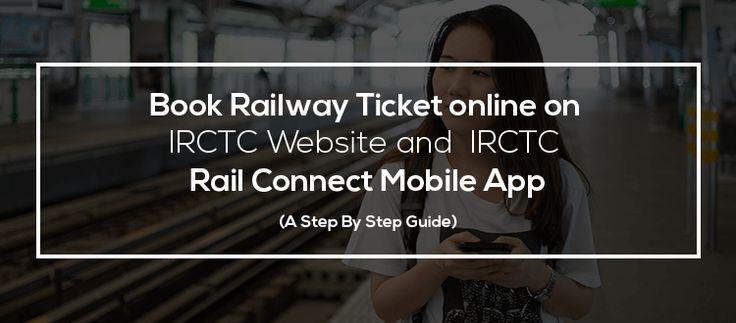 Book Railway Ticket online on IRCTC Website and IRCTC Rail Connect Mobile App  | आईआरसीटीसी वेबसाइट और आईआरसीटीसी रेल कनेक्ट मोबाइल ऐप पर रेलवे टिकट बुक करें   http://irctchelpline.com/book-railway-ticket-online-on-irctc-website-and-irctc-rail-connect-mobile-app/  भारतीय रेलवे और आईआरसीटीसी पर सहायक लेख और अधिक जानकारी के लिए, लाइक करे -  https://www.facebook.com/irctchelpline  For more details and helpful article on Indian railway and IRCTC,  Like our page…