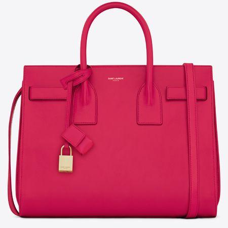 Saint Laurent's new Sac De jour handbag - we're obsessed! Wait 'til you see ALL the colours www.handbag.com