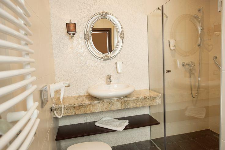 Łazienka w SPA Cottonina.